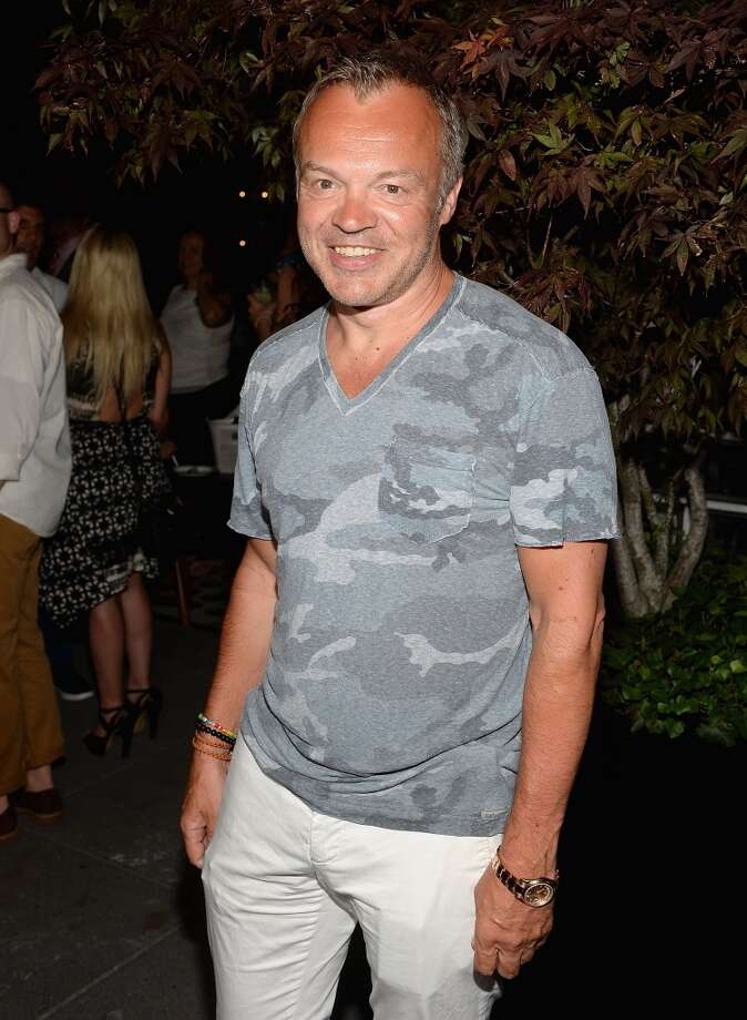 "Graham Norton attends The Cinema Society & Brooks Brothers Host A Screening Of Lionsgate And Roadside Attractions' ""Girl Most Likely"" After Party at Hotel Americano on July 15, 2013 in New York City.  (Photo by Jamie McCarthy/WireImage)"
