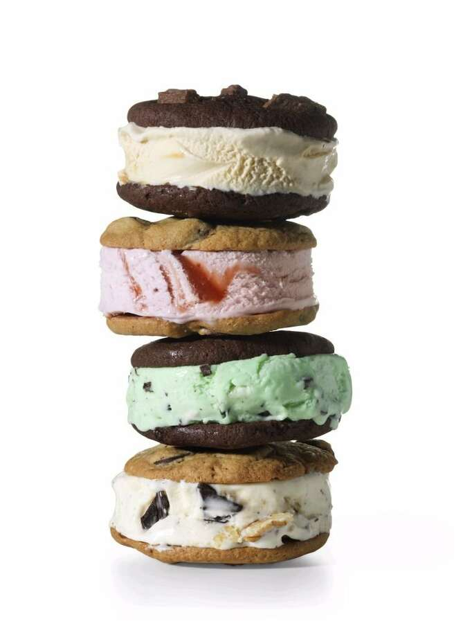 Redbook recipe for Chunky Monkey Madness Ice Cream Sandwiches. Photo: Jonny Valiant
