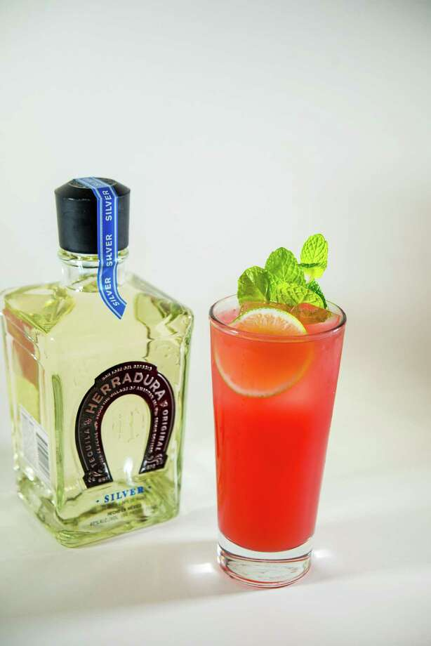 Blood Orange and Mint Cocktail is made with Herradura Silver tequila. Photo: Herradura / Herradura