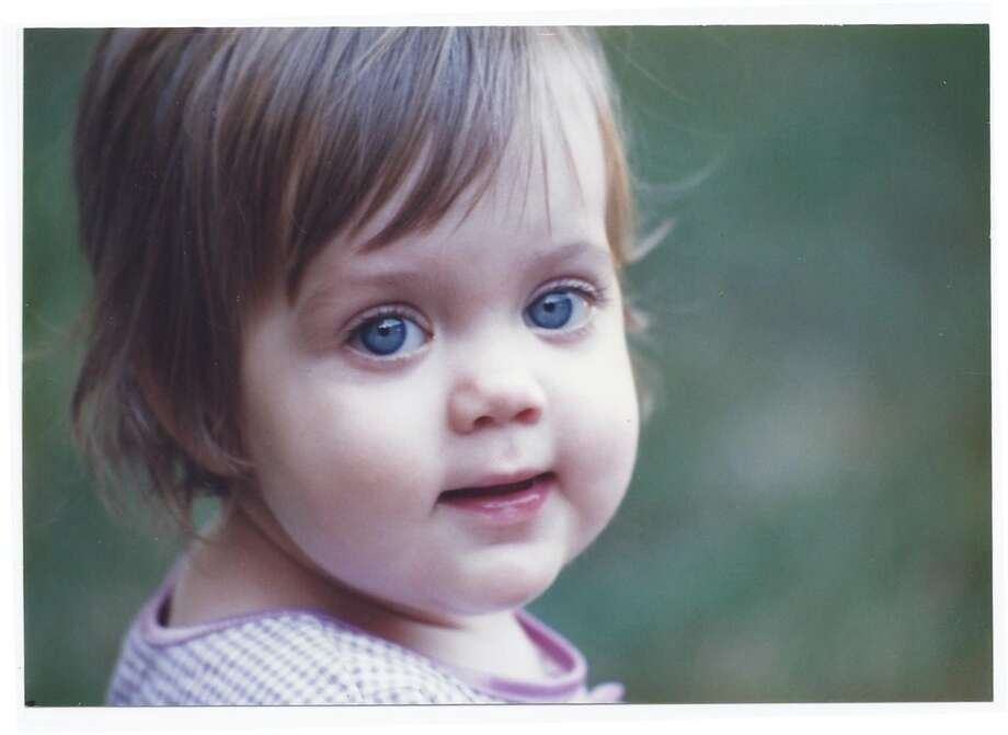 Then: Caitlyn Ferris, age 1 Photo: Reader Photo