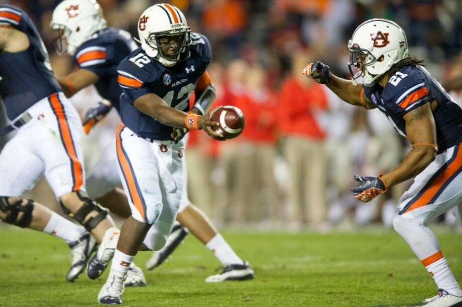 Oct. 19 - Auburn at Kyle Field Photo: Michael Chang, Getty Images