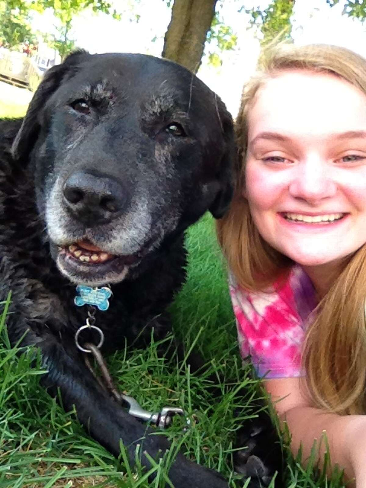 Caroline and Daisy, best companions for 14 years. (Caroline Grondahl)