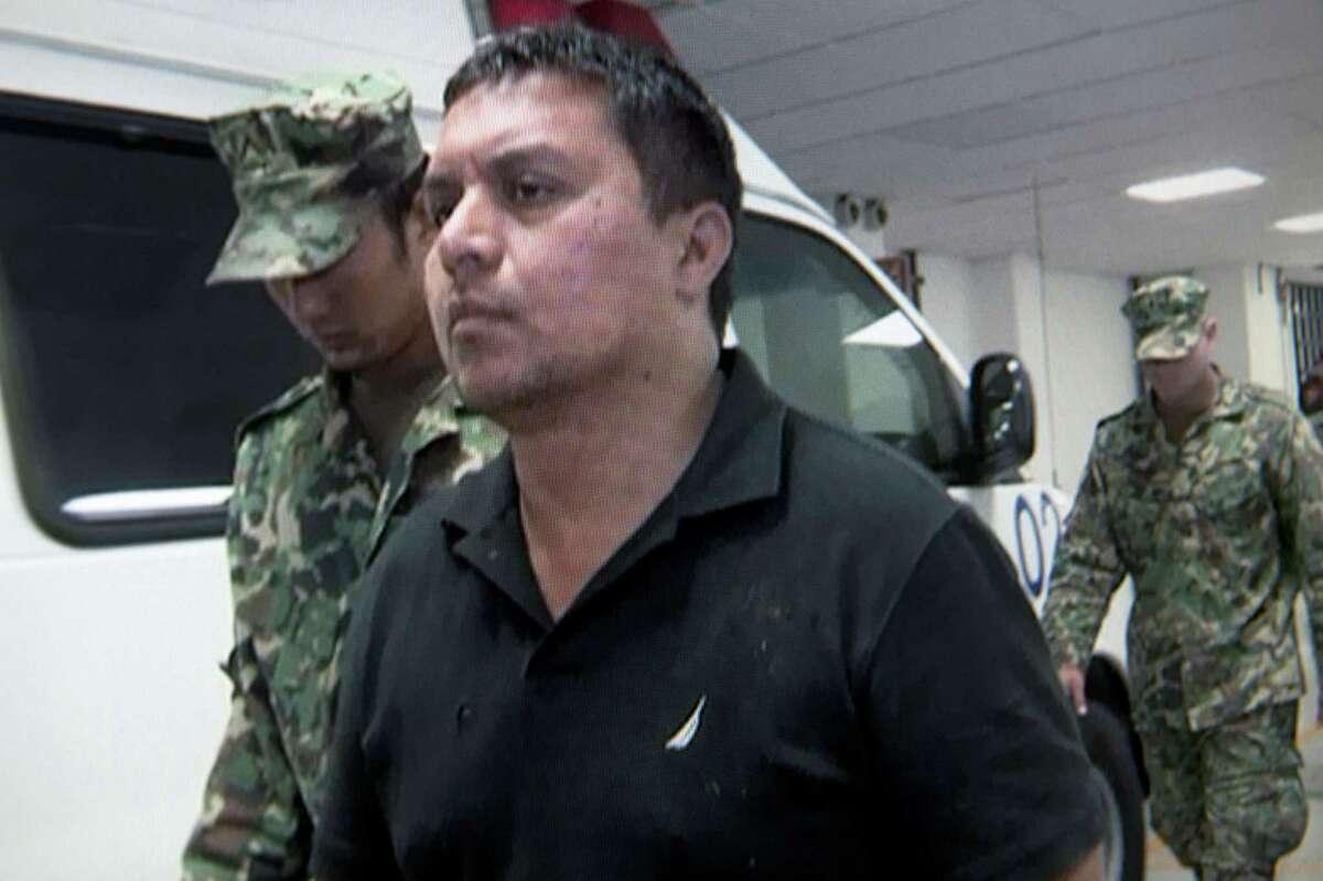 Miguel Treviño Morales was taken into custody on Monday.