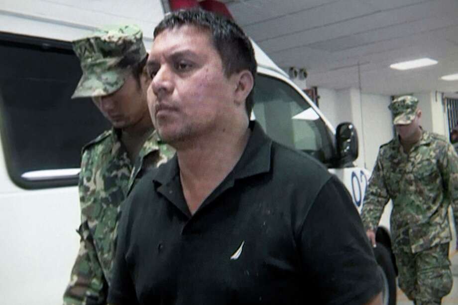 Miguel Treviño Morales was taken into custody on Monday. Photo: HO, Handout / AFP