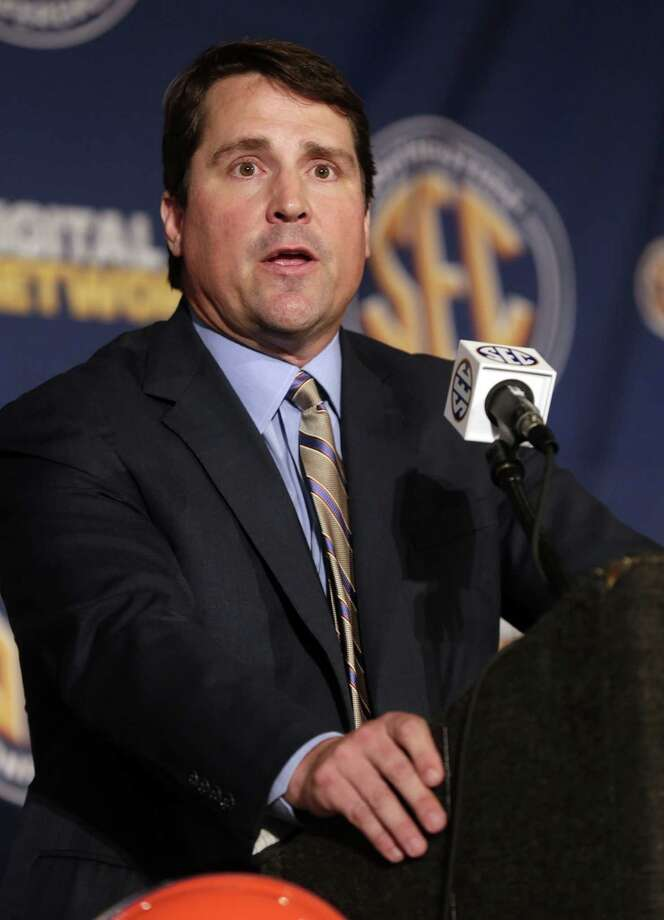 "Florida football coach Will Muschamp said coaches are ""100 percent responsible"" for the off-field actions of their student-athletes. Photo: Dave Martin / Associated Press"