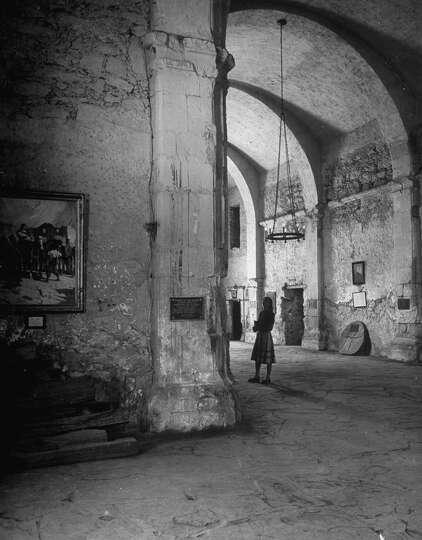 Interior Of The Alamo On Dec 31 1944 Photo 4924812