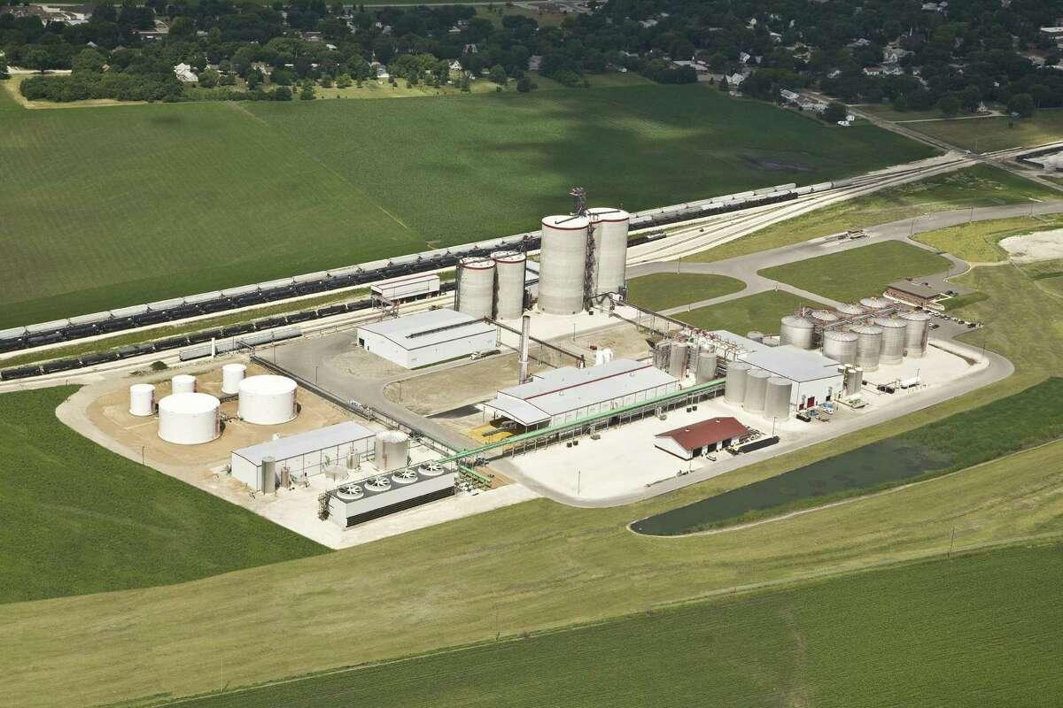 This is San Antonio-based Valero's ethanol plant in Albert City, Iowa.