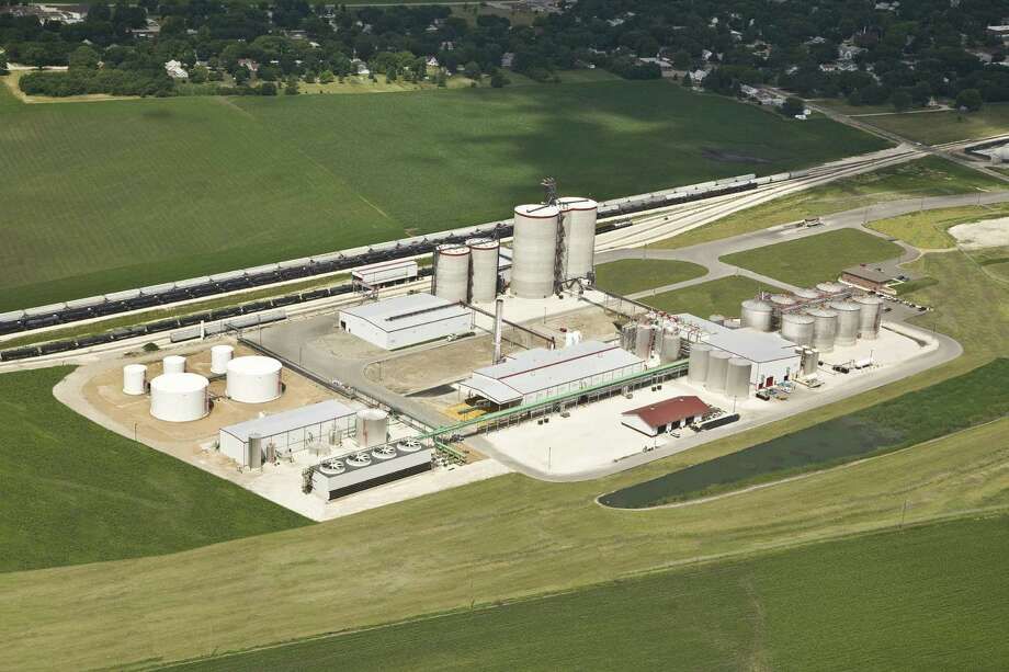 This is San Antonio-based Valero's ethanol plant in Albert City, Iowa. Photo: Jeff Veire / Valero Energy Corp.