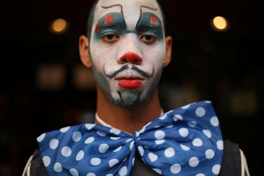 Juan Giovanni Williams-Harris waits for the event to begin. Photo: JOSHUA TRUJILLO, SEATTLEPI.COM