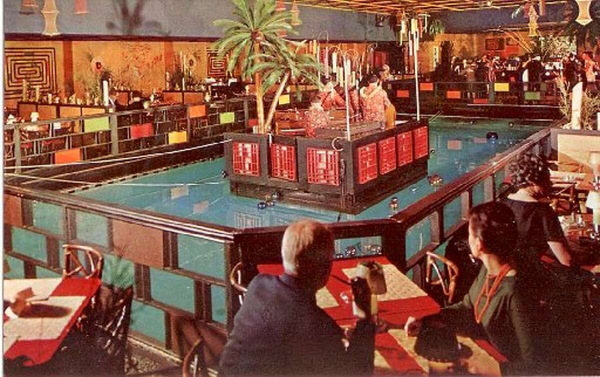 The room as it looked on a 1950s postcard