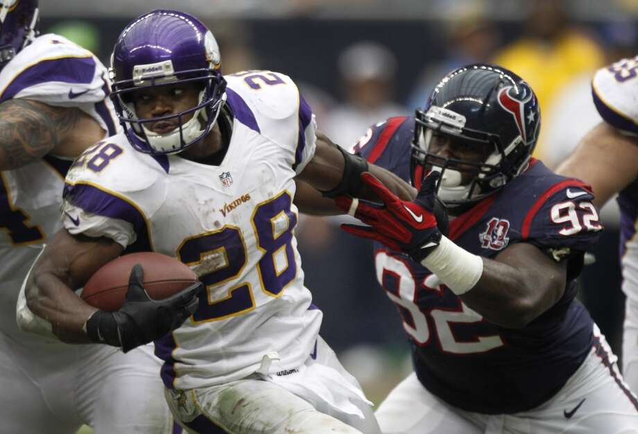 Adrian Peterson Minnesota Vikings running back Nominated for: Best Male Athlete Best NFL Player Best Comeback