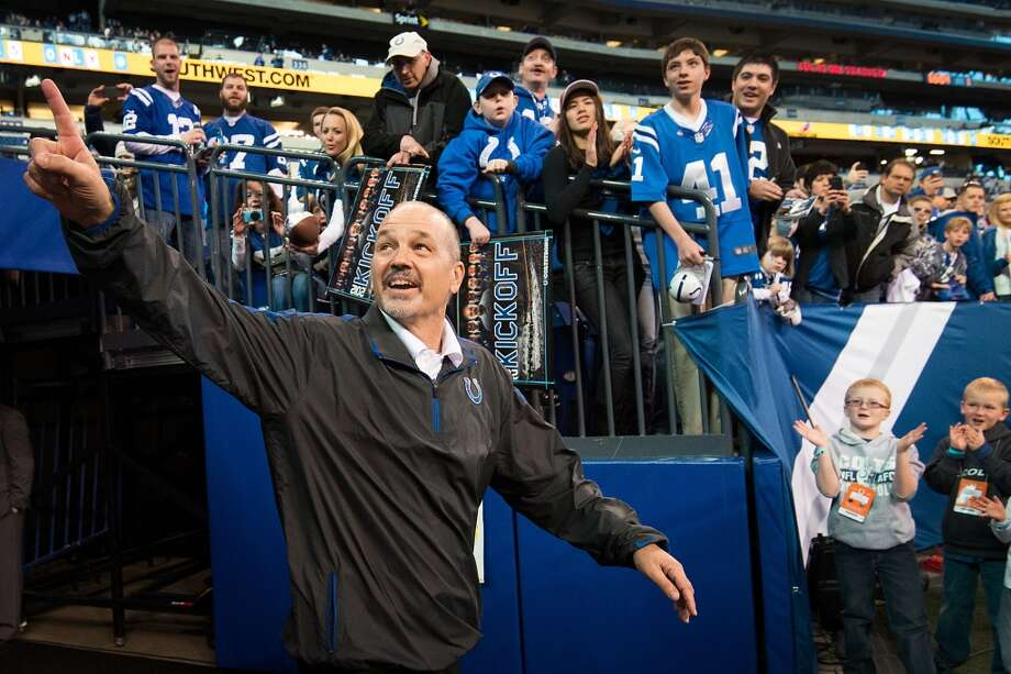 Chuck Pagano Indianapolis Colts coach Nominated for: Best Moment