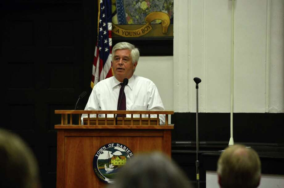 Kip Hall is one of the two Democrats that was endorsed by the Democratic Town Committee for a position on the Board of Selectmen. Photo: Megan Spicer