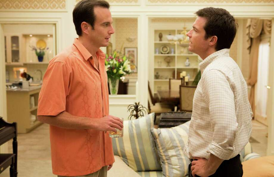 "Will Arnett, left, and Jason Bateman star in ""Arrested Development."" Photo: Michael Yarish, HOEP / Netflix"