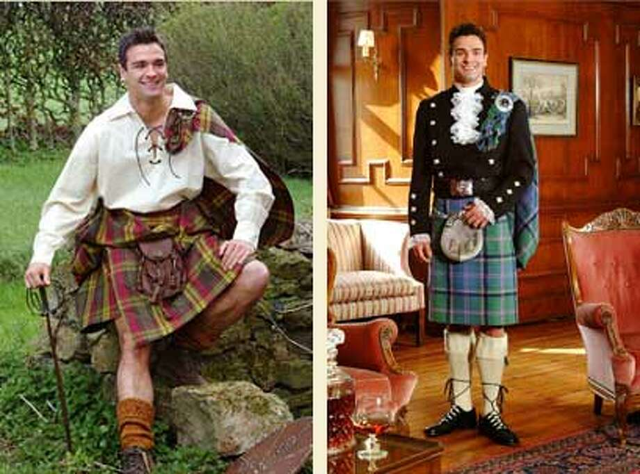 "Runway Couturier's ""American Equality Show"" at the Crocker Galleria includes the traditional Scottish kilts of Wm. Glen & Son – Scottish Imports on July 24."