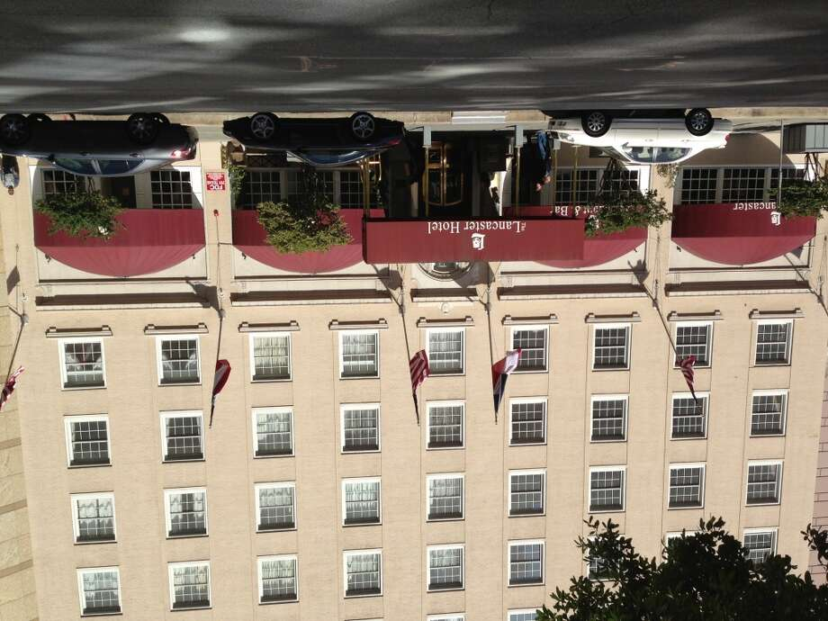 The Lancaster Hotel, built in 1926, is a Recorded Texas Historical Landmark..