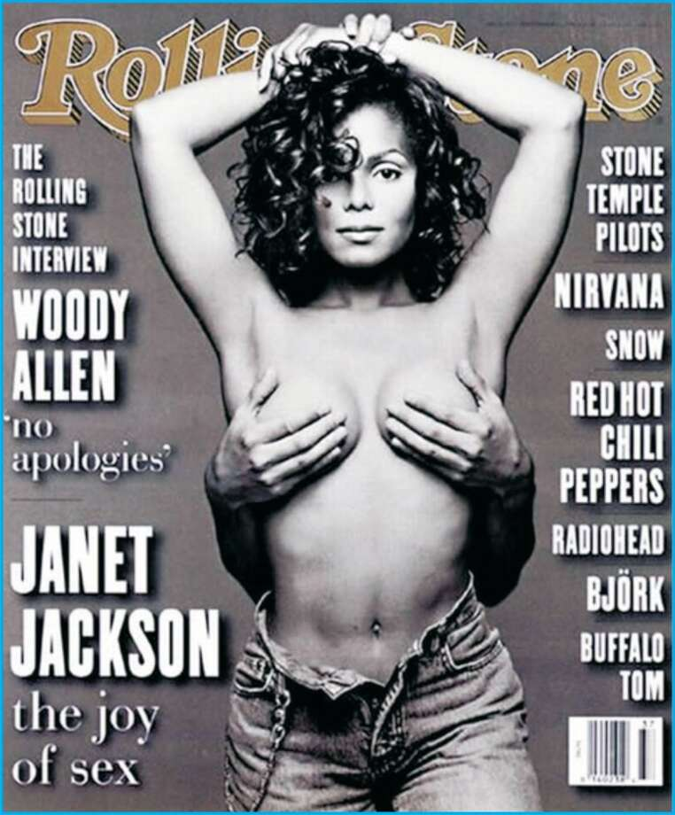 Nude Rolling Stone covers often spark controversy. This one showed too much skin for it's intended youth audience, many critics alleged.