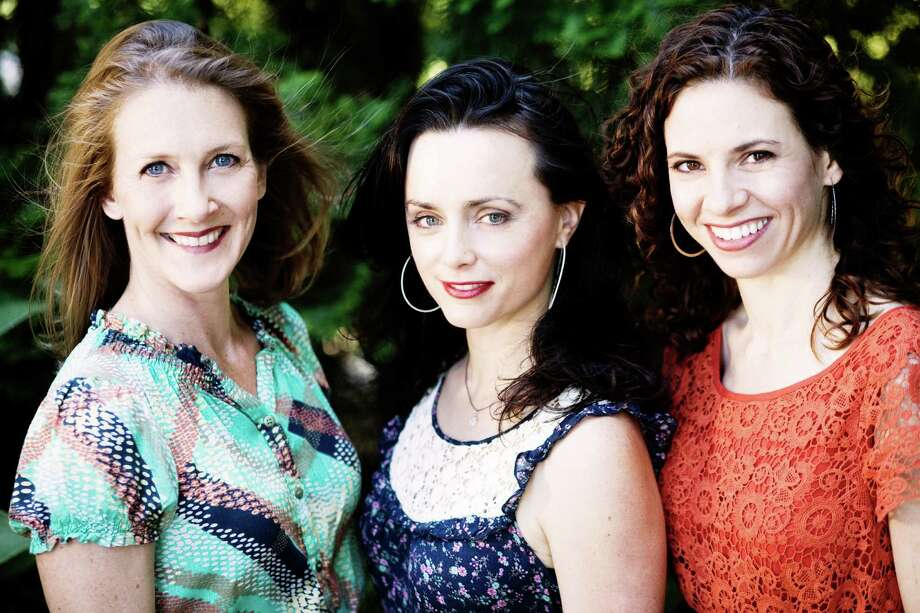 Laurie MacAllister, New Haven resident Molly Venter and Abbie Gardner are the members of Red Molly, a female Americana trio that will perform at the Bartlett Arboretum and Gardens in Stamford, Conn., on Sunday, July 21, 2013, from 5 to 7 p.m. Admission: $10 nonmembers, $5 members. Photo: Contributed Photo / Stamford Advocate Contributed