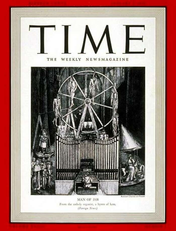 "Time Magazine declares Adolf Hitler its ""Man of the Year"" in this pre-World War II issue from 1939."