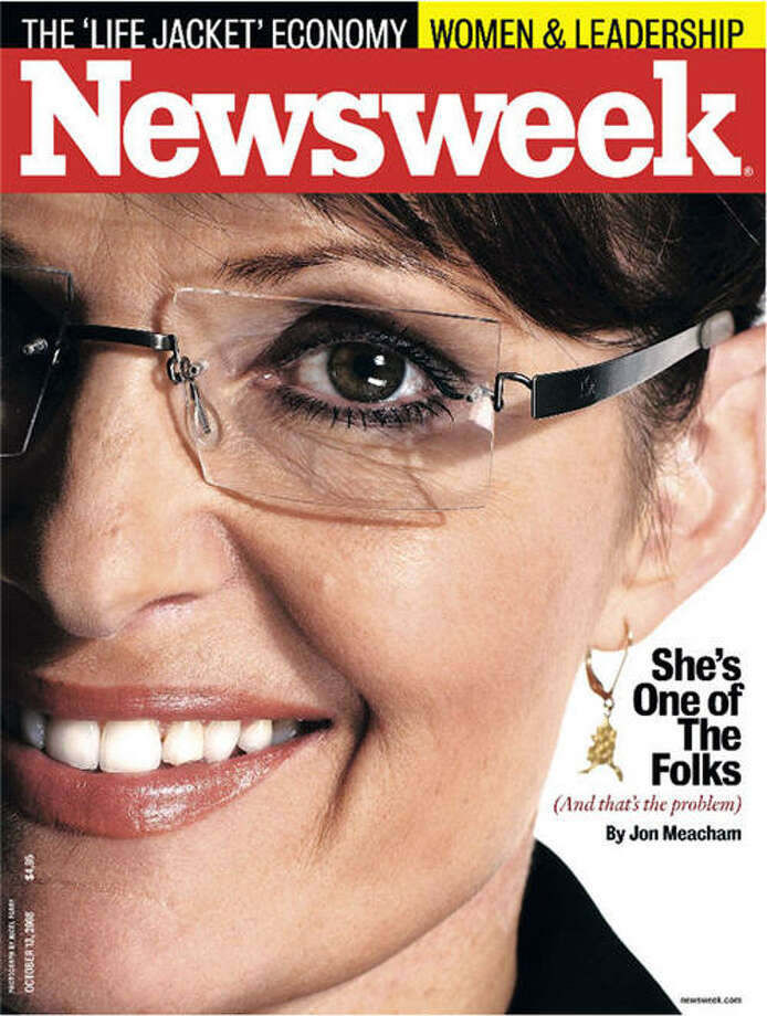 Like with Michele Bachmann, GOP critics again complained that cover designers used an unflattering picture of Sarah Palin as a subtle means of undermining both the politician and the party.