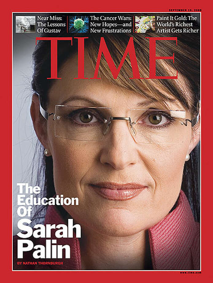 Time was criticized for a similar close-up shot of Palin.