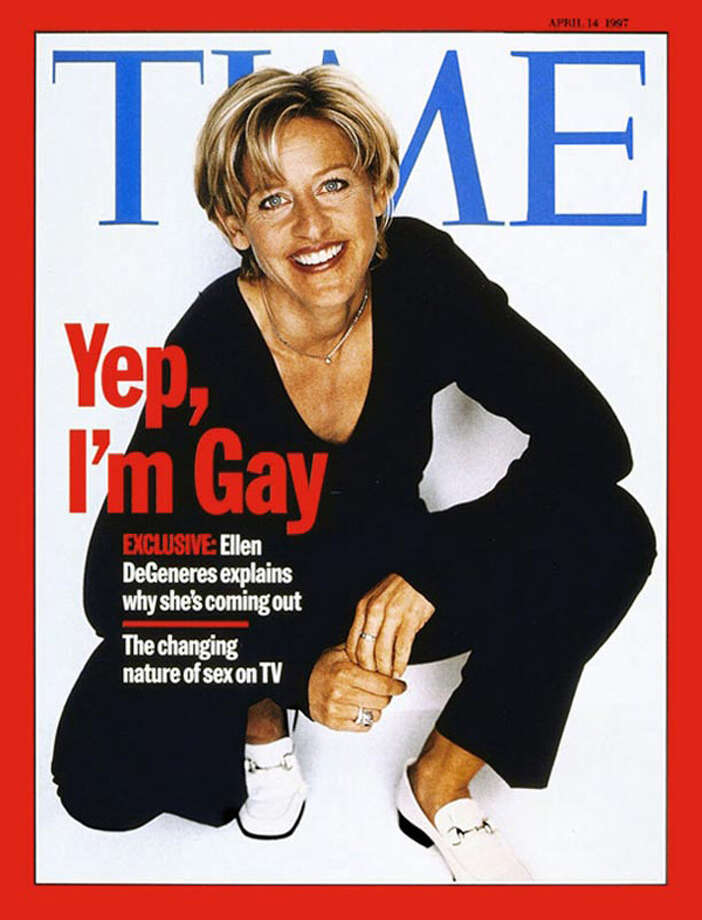 Celebrities coming out on magazine covers is cliche now, but it was groundbreaking when Ellen DeGeneres originally did it for Time.