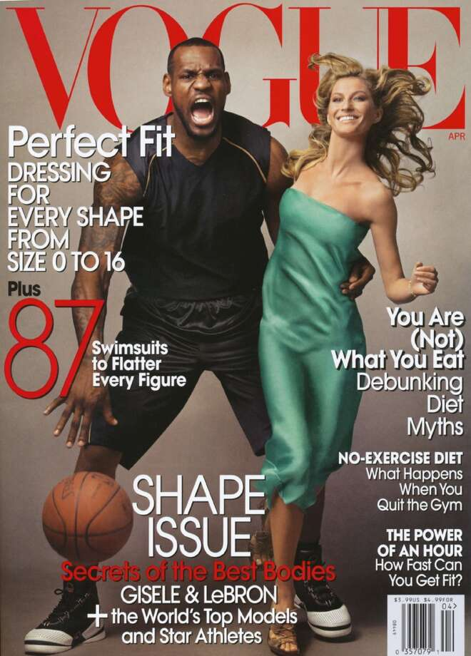 Critics allege the photographer of this cover photo was trying to paint Lebron James as a modern King Kong, standing with an aggressive pose and a damsel in his arms.