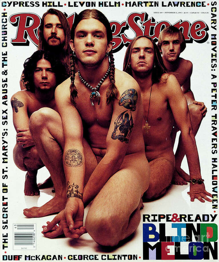 Blind Melon appeared nude on the November 1993 issue of Rolling Stone.