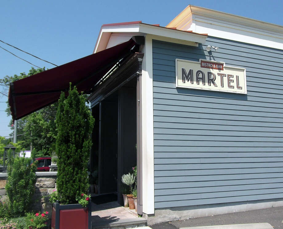 Martel restaurant on Post Road is one of the town's most popular dining destinations. Photo: Patti Woods / Fairfield Citizen contributed
