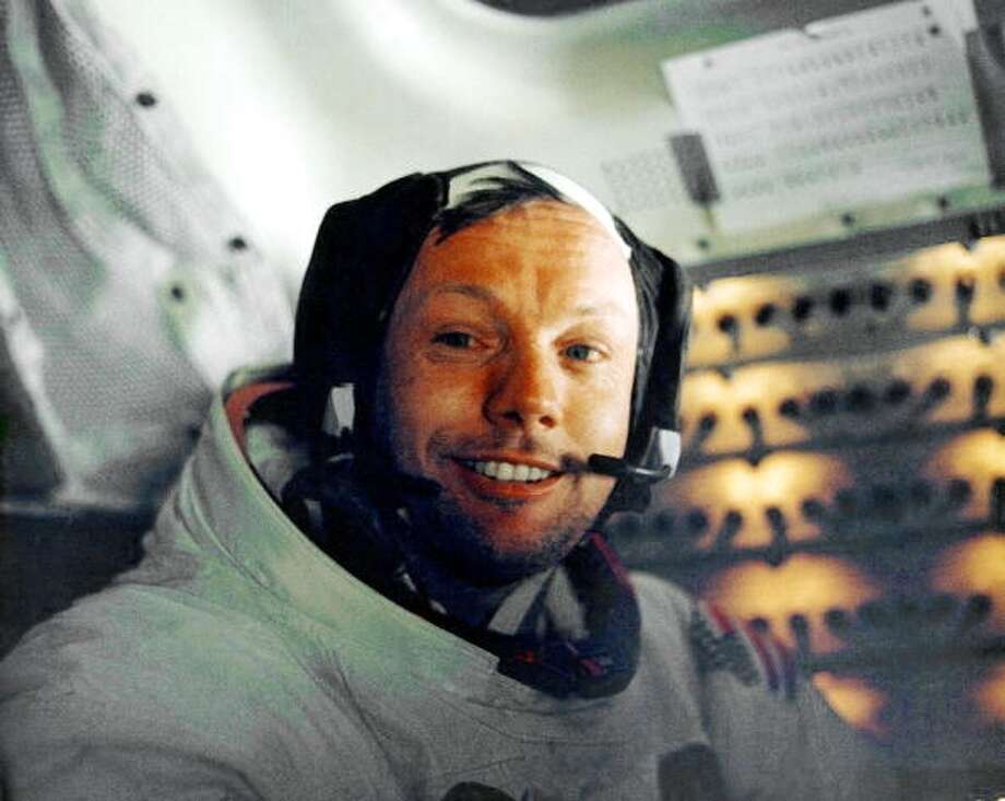 FAMOUS FORMER BOY SCOUTS:Astronaut Neil Armstrong (Getty Images)