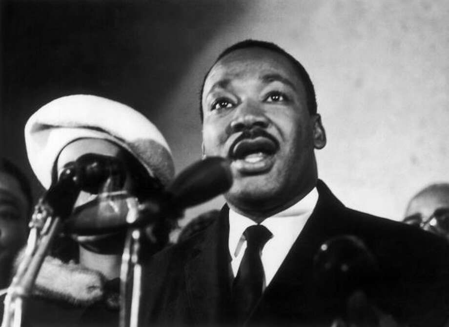 Civil rights leader Rev. Martin Luther King, Jr. (Getty Images) Photo: Keystone-France, Gamma-Keystone Via Getty Images / 1961 Keystone-France