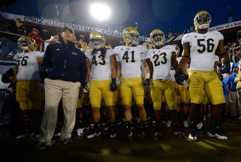 Football coach Jim Mora  (Getty Images)