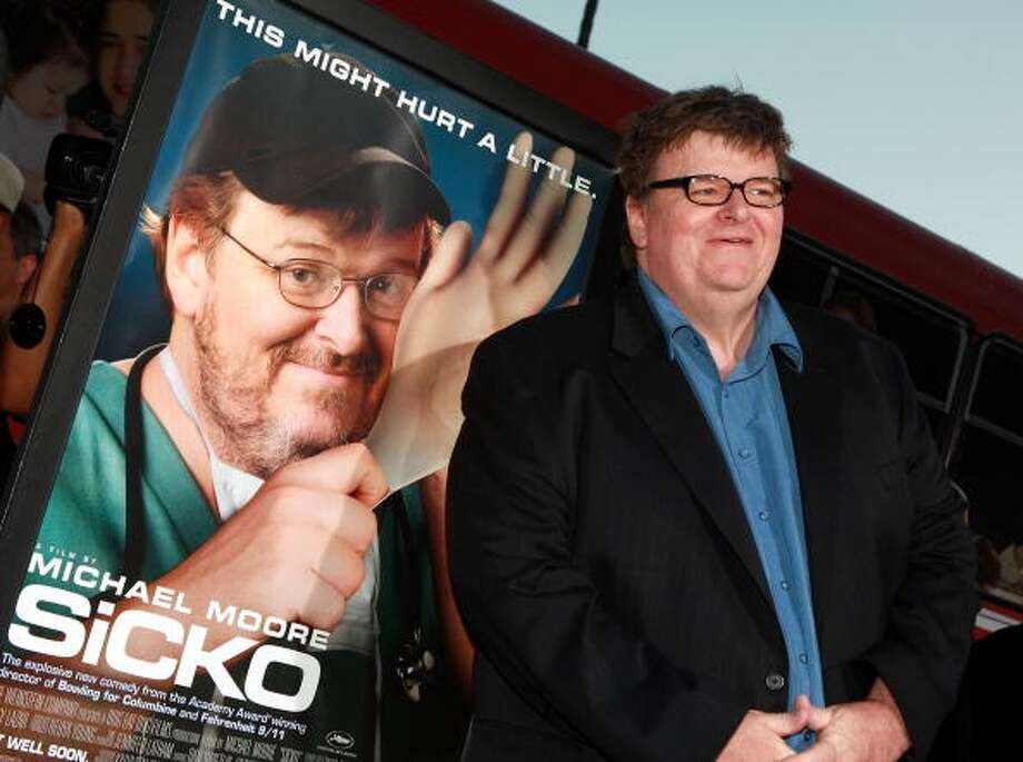 Director and activist Michael Moore (Getty Images)