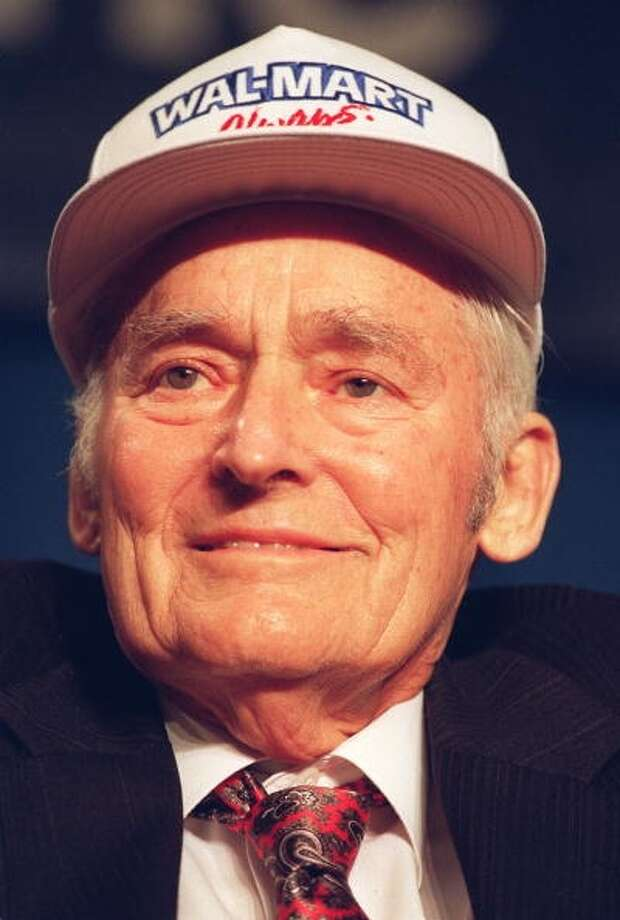 Walmart founder Sam Walton (Getty Images)