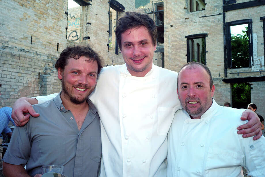 Chef Robbie Nowlin is starting a supper club with artist Justin Parr and Chef Jeff Wiley. Photo: LELAND A. OUTZ, SPECIAL TO THE EXPRESS-NEWS / SAN ANTONIO EXPRESS-NEWS