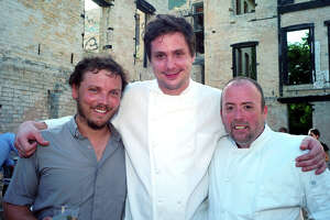 Chef Robbie Nowlin is starting a supper club with artist Justin Parr and Chef Jeff Wiley.