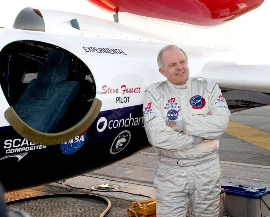Adventurer and pilot Steve Fossett (Getty Images)