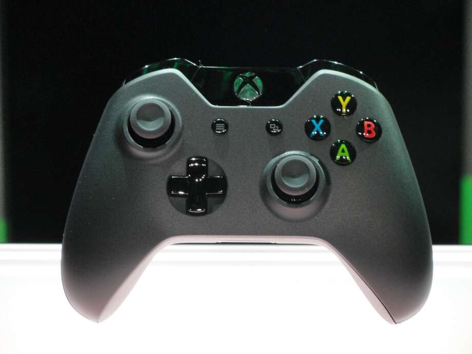 The new controller for Xbox One videogame console is seen at the Microsoft campus in Redmond, Washington, on May 21, 2013.