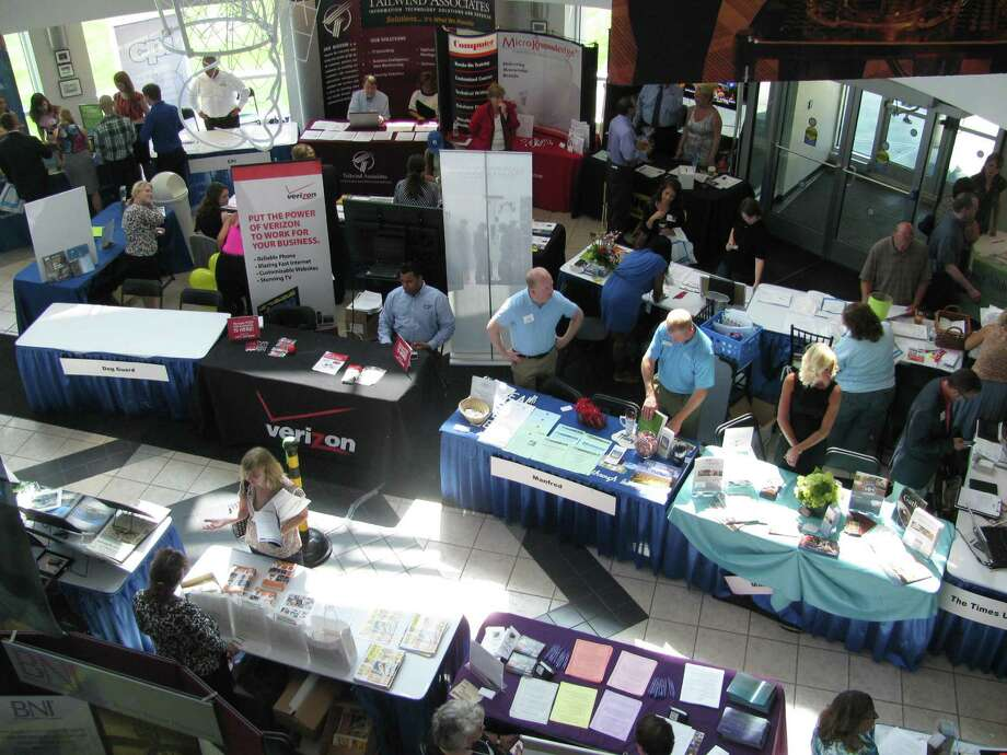 Were you Seen at the 7th annual smAlbany 2013 Small Business Expo, Social Media Conference, Networking and Job Fair at noon Wednesday, July 17 at the College of Nanoscale Science and Engineering? Photo: Nick Preller