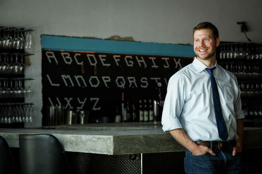 Sommelier David Keck takes the farm-to-table culinary movement and refocuses it on wine at Camerata wine bar in Montrose. Photo: Michael Paulsen, Staff / © 2013 Houston Chronicle