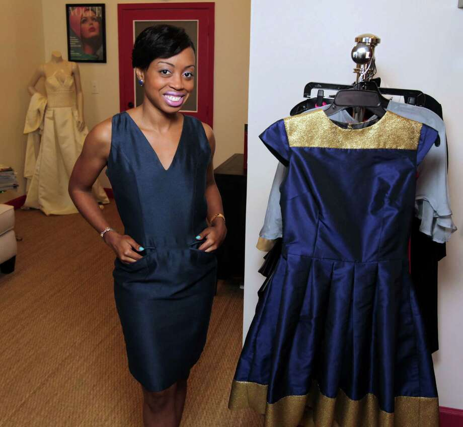 Melissa Greggs says her travels helped inform her designs. Photo: James Nielsen, Staff / © 2013  Houston Chronicle
