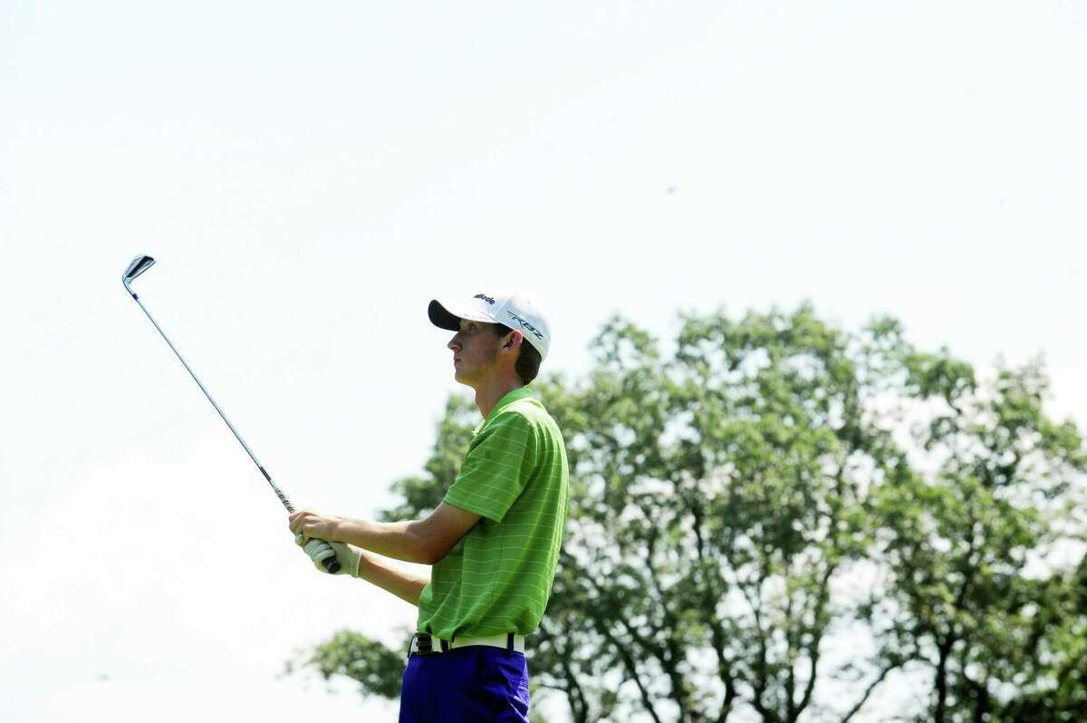 Jacob Henny, of Norwalk, played in the Round of 16 of the Met Junior Championship at Fairview Country Club, in Greenwich, Conn., Wednesday, July 17, 2013. Henny beat Paul Pastore of Greenwich, to advance to the quarterfinals.