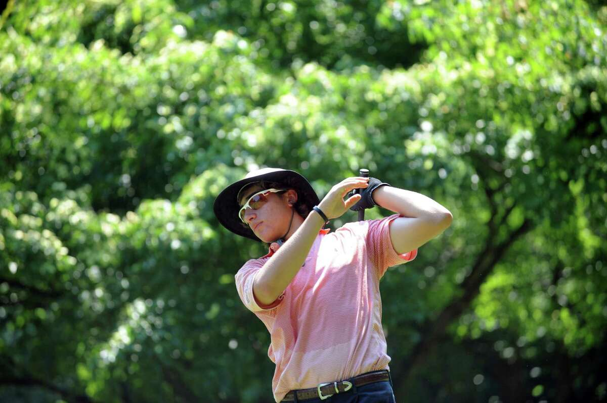 Paul Pastore of Greenwich played in the Round of 16 of the Met Junior Championship at Fairview Country Club at Metropolitan Amateur Fairview Country Club, in Greenwich, Conn., Wednesday, July 17, 2013.
