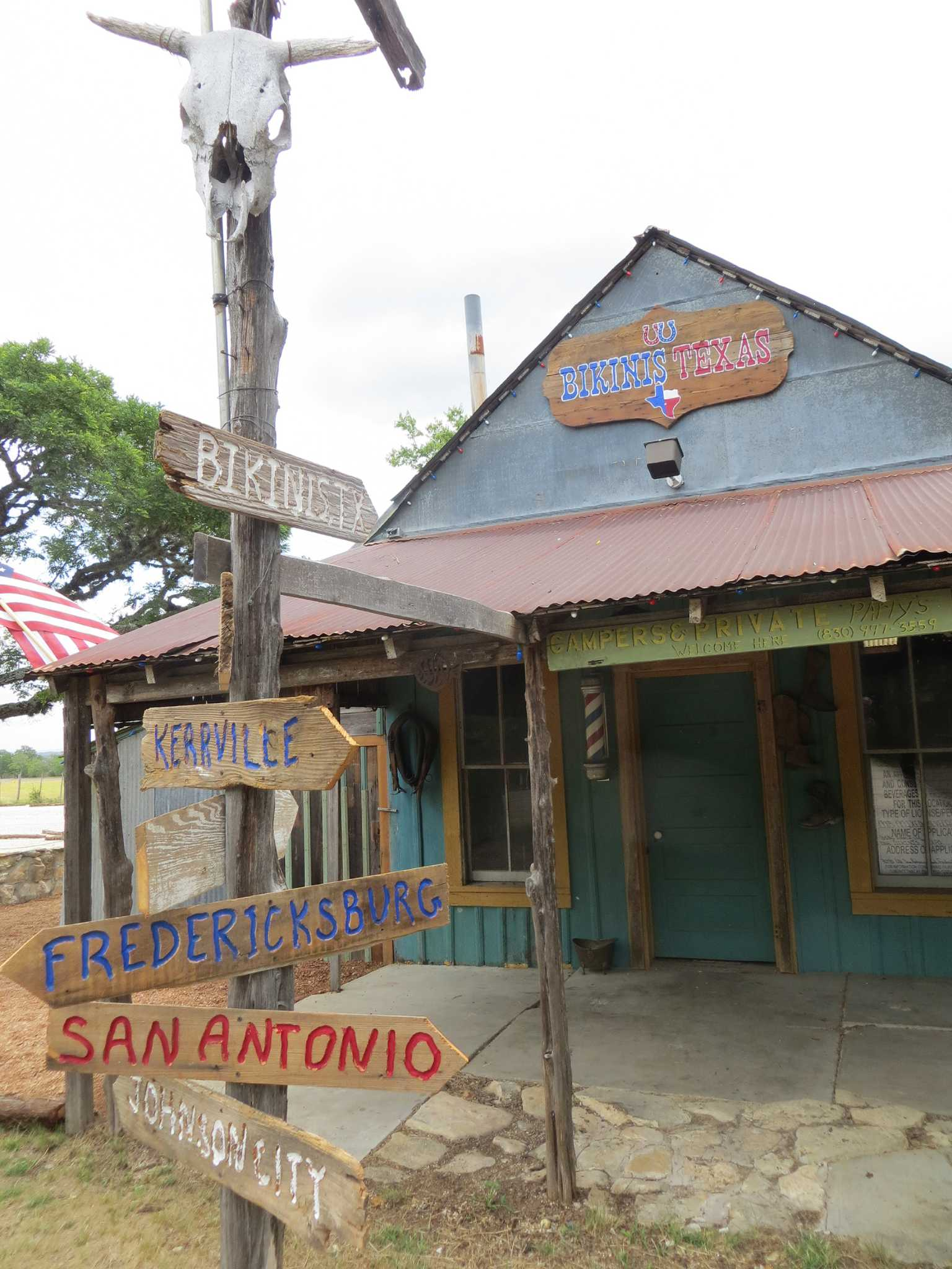 Central Texas Ghost Town Previously Known As Bikinis Is