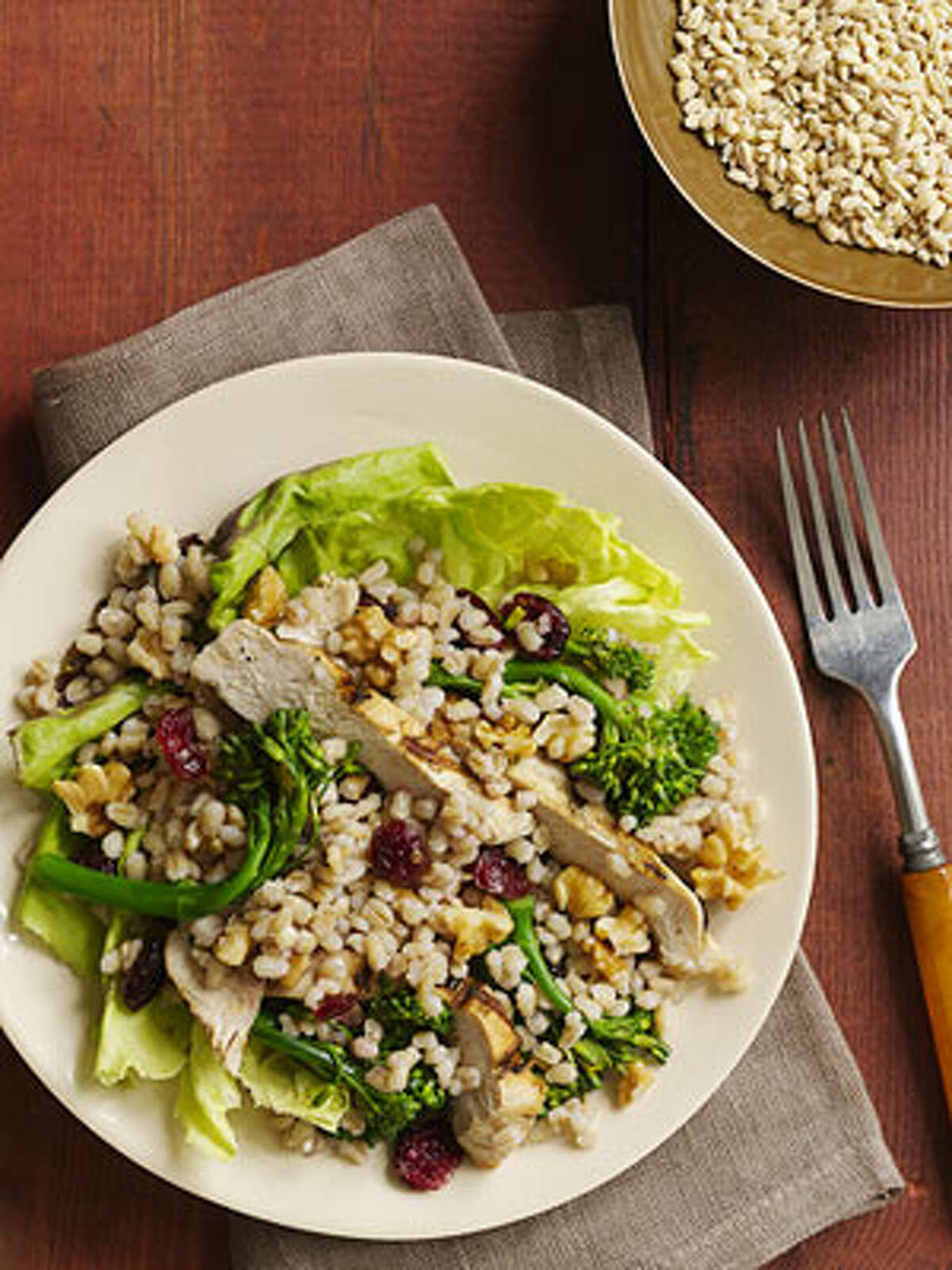 Chicken and Barley Salad (recipe.com)