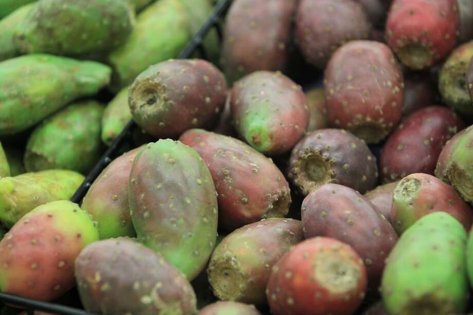 White and Red Tunas for sale in the produce area during the grand opening of the Fiesta Market Place at 13833 Southwest Freeway, Wednesday, July 17, 2013, in Houston.  This new Fiesta Market Place in Sugar Creek will offer a number of firsts for a Fiesta store.( Karen Warren / Houston Chronicle )