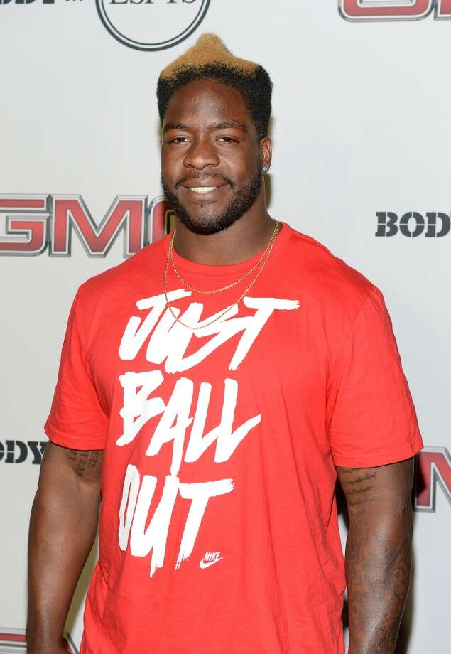 "Professional football player Lamarr Houston attends ESPN the Magazine 5th annual ""Body Issue"" party at Lure on July 16, 2013 in Hollywood, California.  (Photo by Michael Kovac/WireImage)"