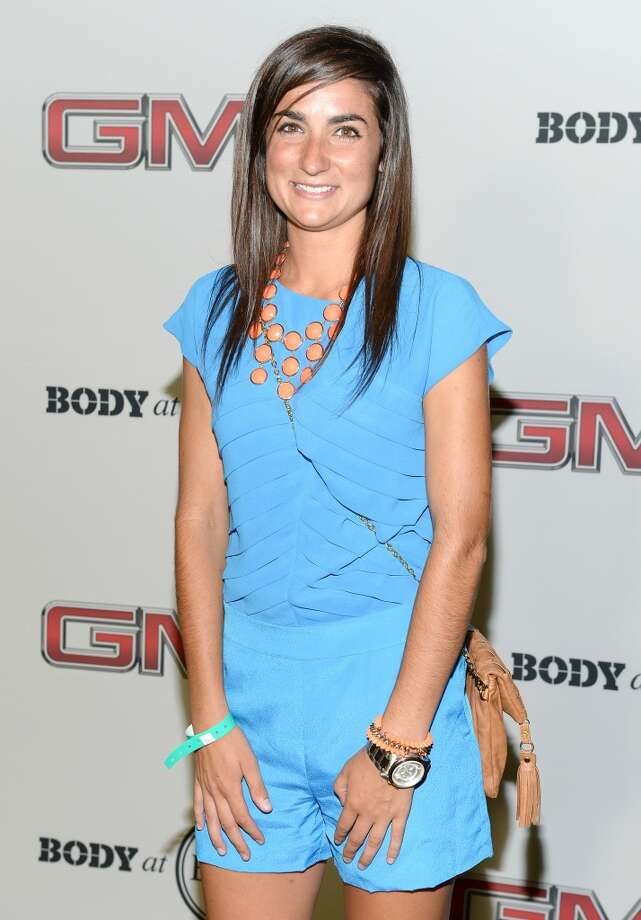 "Lacrosse player Kara Cannizzaro attends ESPN The Magazine 5th annual ""Body Issue"" party at Lure on July 16, 2013 in Hollywood, California.  (Photo by Michael Kovac/WireImage)"