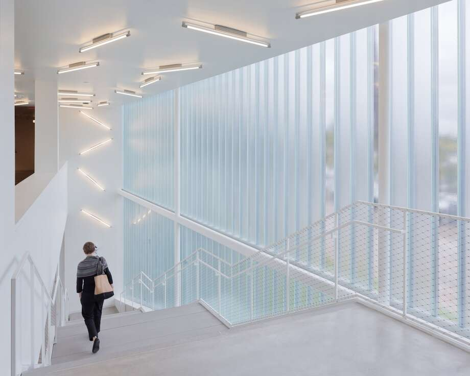 Blaffer Art Museum by WORK Architecture Company (Renovation/Restoration)  ARCHITECTURAL DESIGN TEAM WORKac ASSOCIATE ARCHITECT Gensler CLIENT OR DEVELOPER Blaffer Art Museum, Universtiy of Houston  PHOTOGRAPHER Iwan Baan