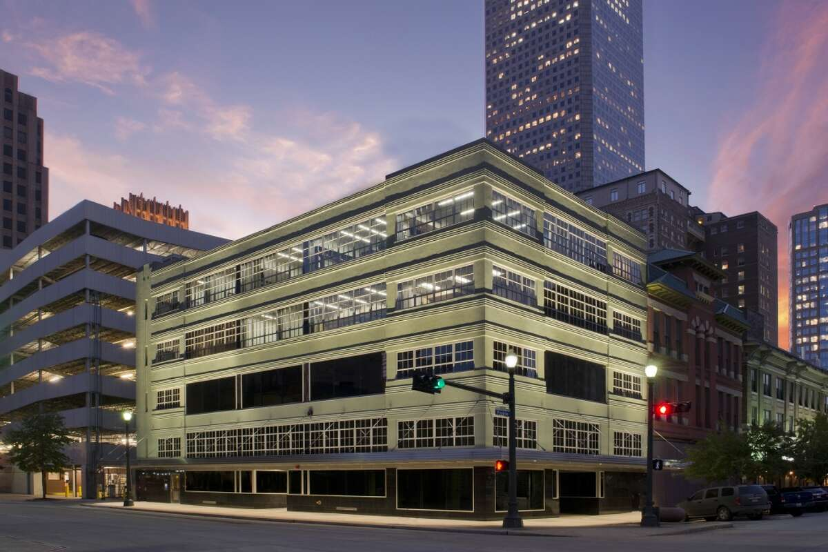 Another Preservation Texas winner: The renovated 500 Fannin office building, built in 1932.